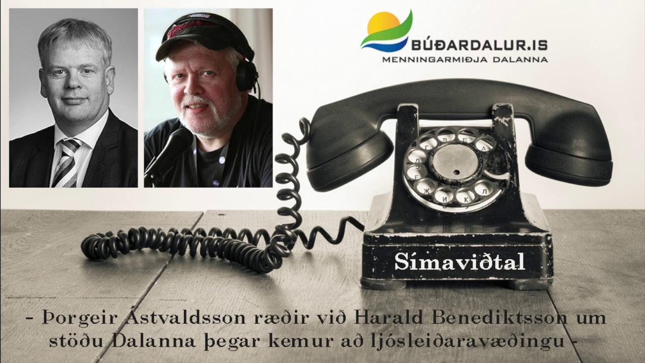 Símaviðtal: Haraldur Benediktsson alþingismaður 2015