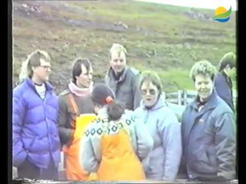 Gillastaðarétt haustið 1989