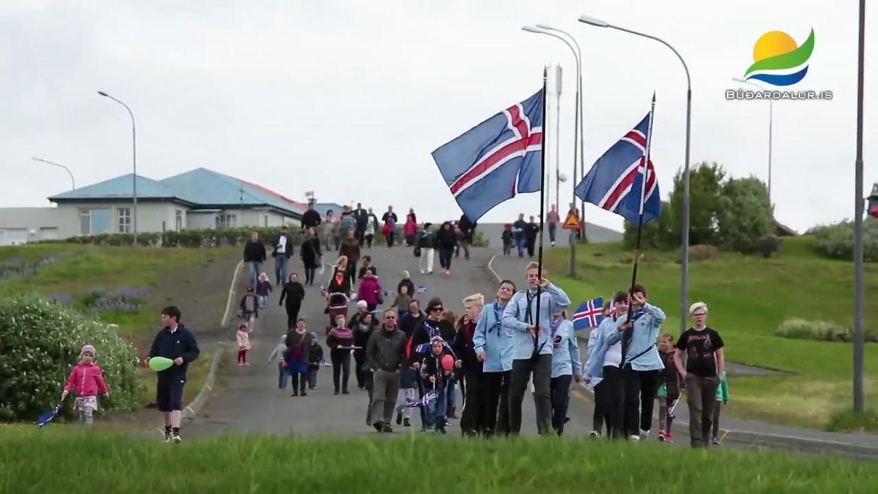 17 júní hátíðahöld í Búðardal 2014